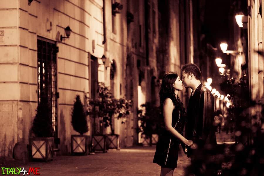 Ночной Рим - фотосессия в Италии