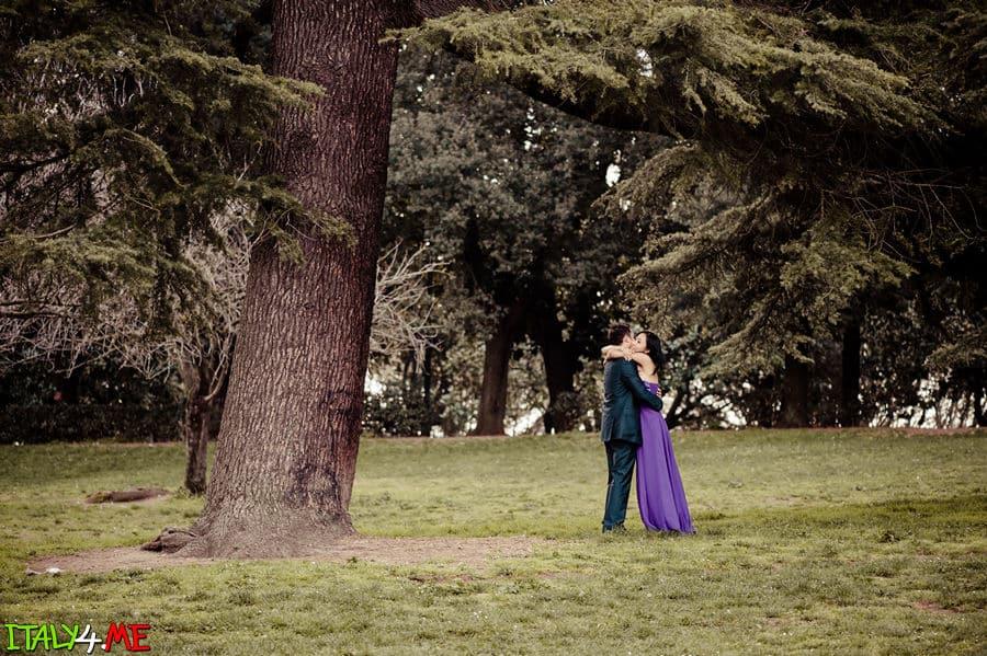 Вилла Боргезе в Риме - свадебное путешествие в Италию