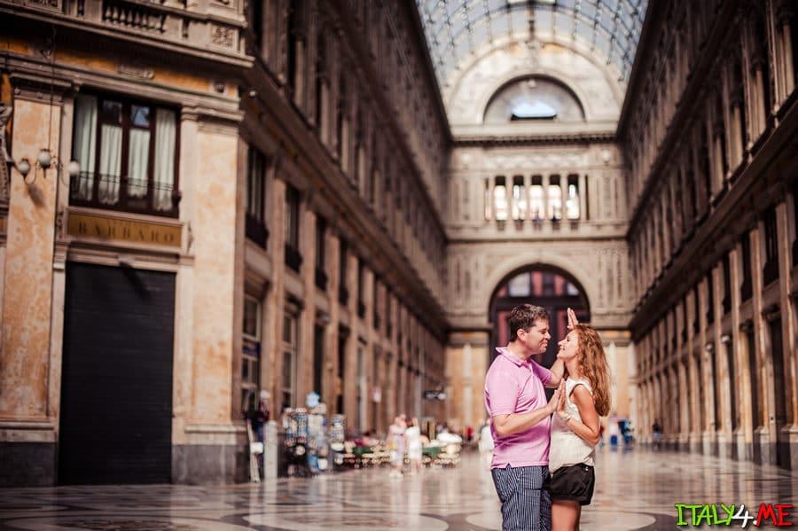 Медовый месяц в Италии - фотосессия в Неаполе