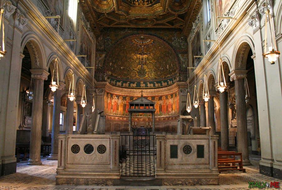 Базилика San Сlemente в Риме