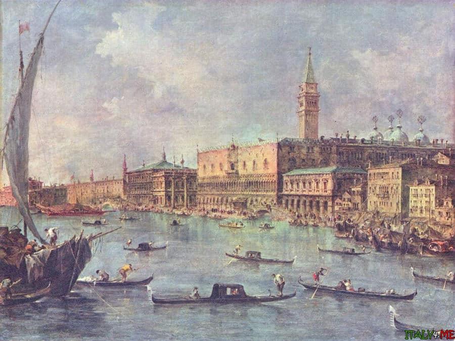 Картина Дворец Дожей в Венеции
