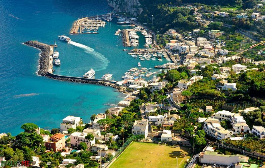 Остров Капри летом - всегда хорошая погода!
