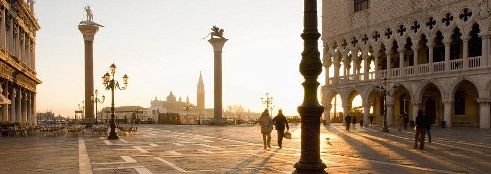 Площадь святого Марка в Венеции утром