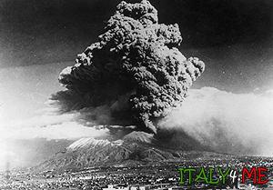 последнее извержение вулкана Везувий в Италии 1944 год