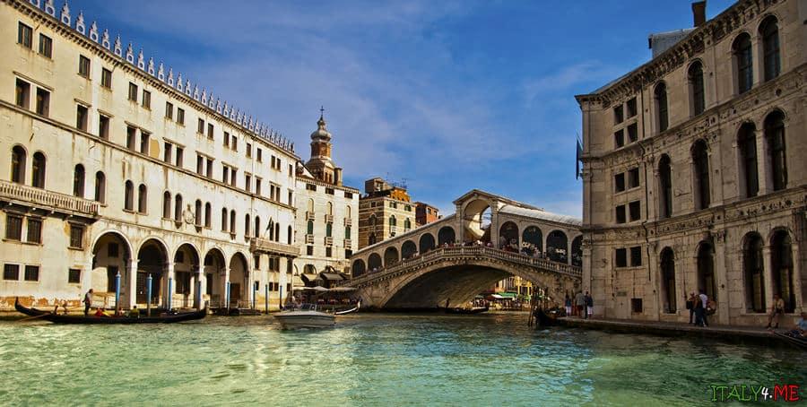Мост Риальто в Венеции Италия 2013