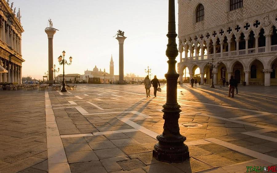 Площадь святого Марка в Венеции