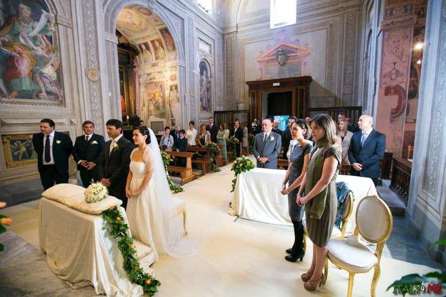 Свадебная церемония в Италии