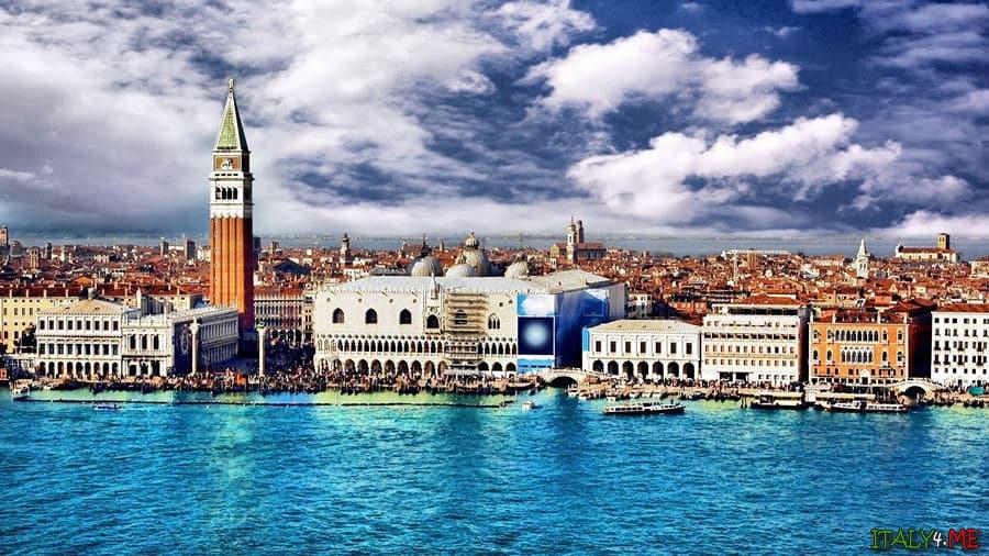 Венеция летом в Италии