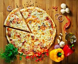 Итальянская пицца четыре сезона