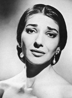 Мария Каллас - оперная певица театра Ла Скала в Милане
