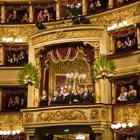 Балкон театра Ла Скала в Милане