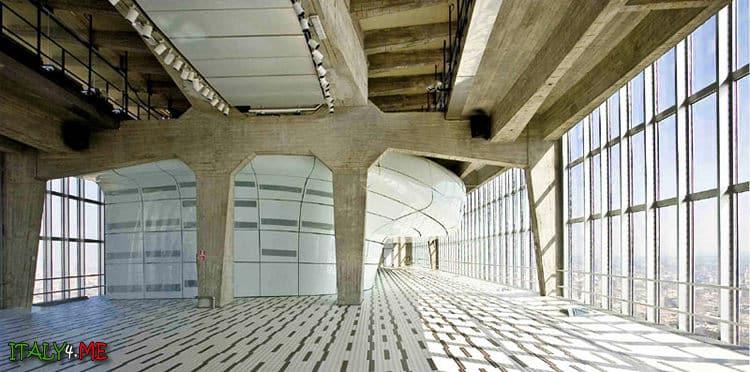 Интерьер и дизайн башни Пирелли в Милане