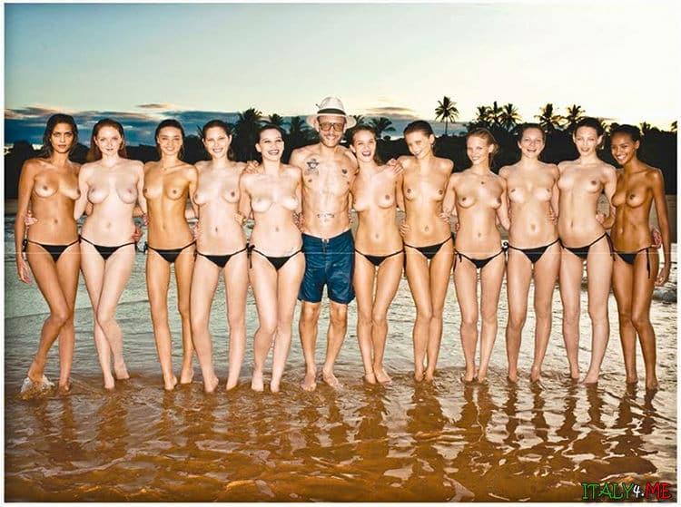 Календарь Пирелли модели и фотограф