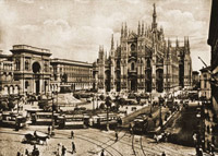 Миланский кафедральный собор Дуомо - фото в начале XX века