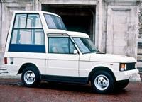 Первый папамобиль марки Range Rover в Ватикане