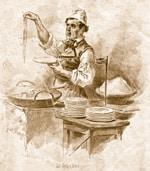 Продавец пасты 18 век