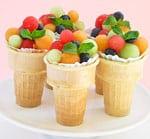 фруктовый лед - итальянский десерт, рецепт