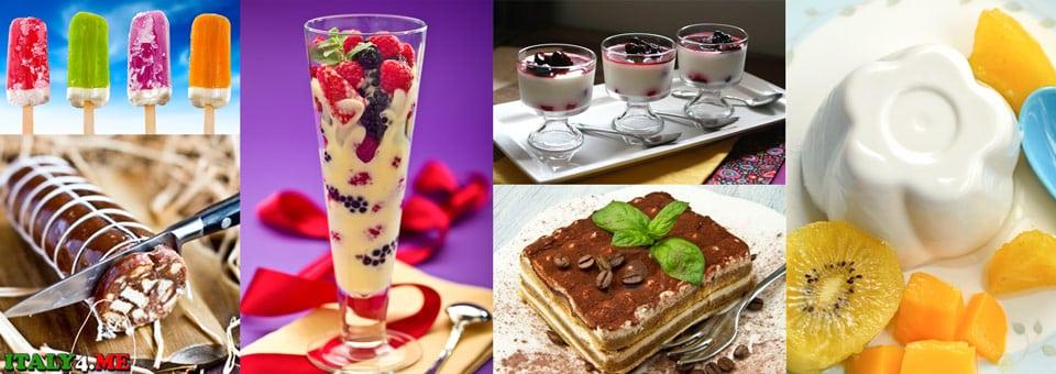Итальянские десерты рецепты названия фотографии
