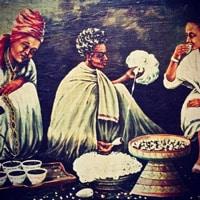 Кофейная церемония в Эфиопии