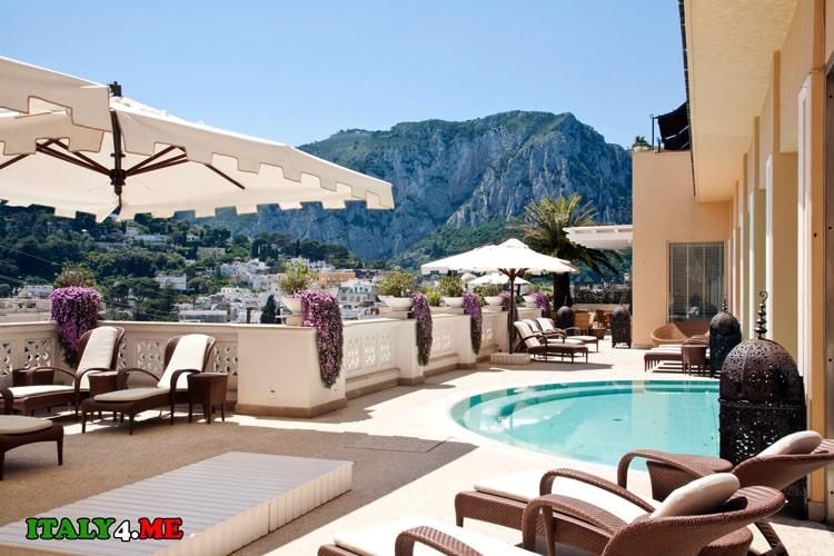Отель Capri Tiberio Palace Resort & SPA