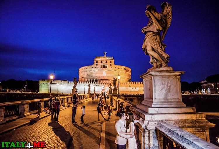 Свадебное путешествие в Рим летом – что посмотреть, где сфотографироваться?