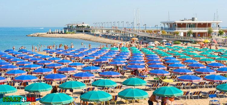 пляжи города Каттолика