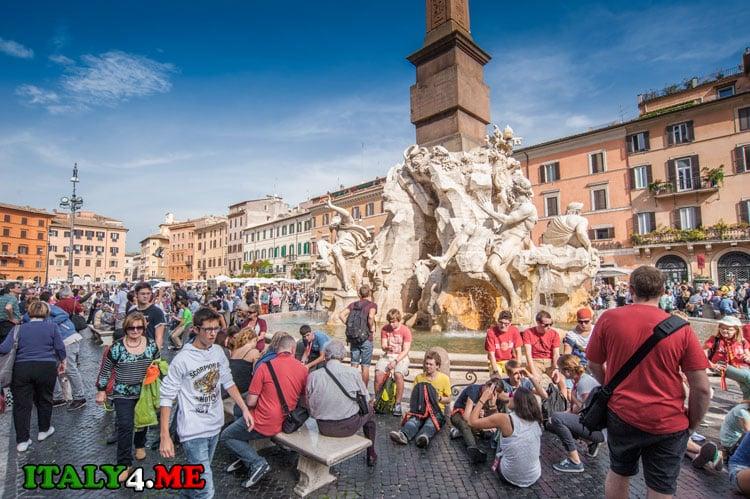 достопримечательности Италии на Piazza Navona