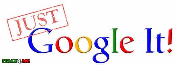 Гугл в Италии