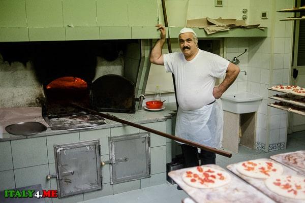 печь пицца