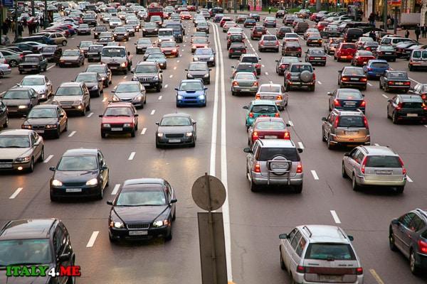 автотранспорт в Италии