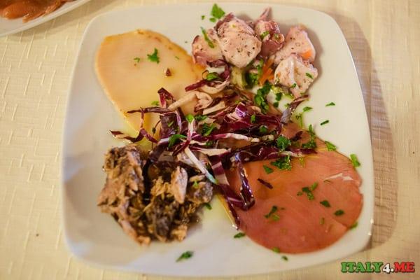 Сицилия ресторан закуски