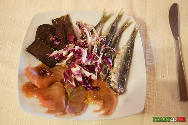 закуска рыба Сицилия