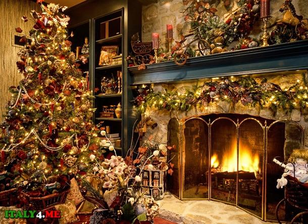 традиционная рождественская елка в Италии