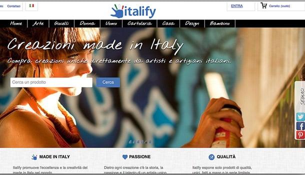 Сделано в Италии сайт