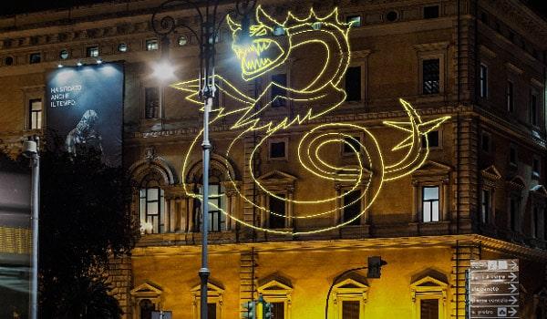 Выставка чудовищ в Риме