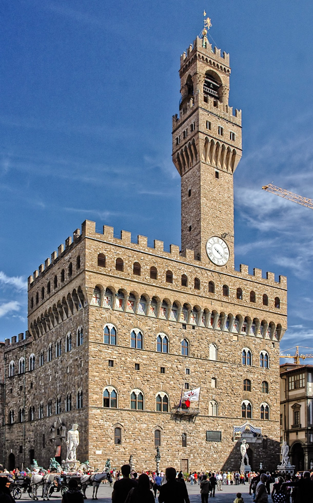 Башня в Венеции Палаццо Веккьо