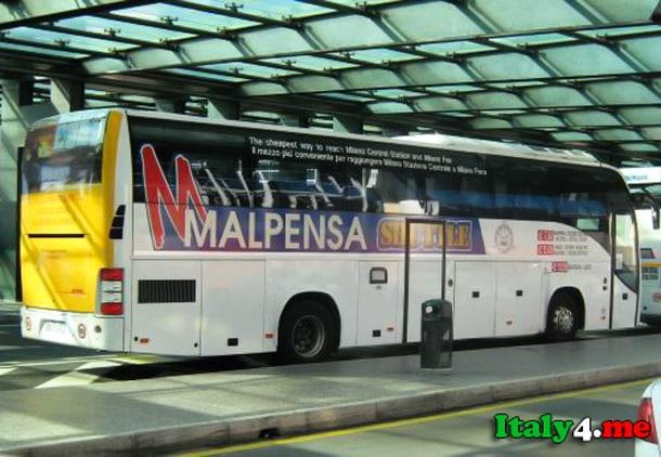 автобус Мальпенса аэропорт