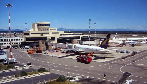 аэропорт Милан