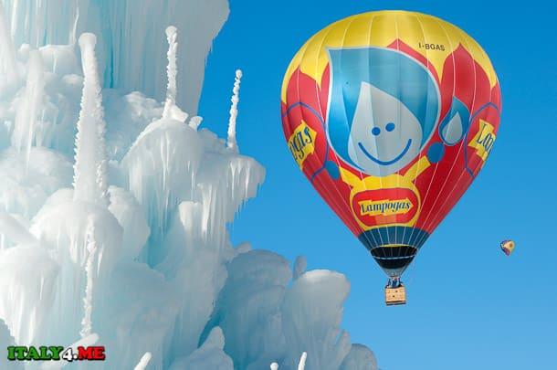 воздушный шар Италия