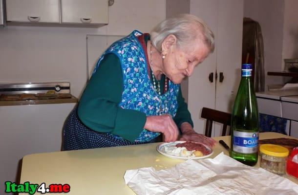 итальянская долгожительница Эмма Морано
