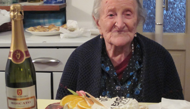 италия бабушка 113 лет