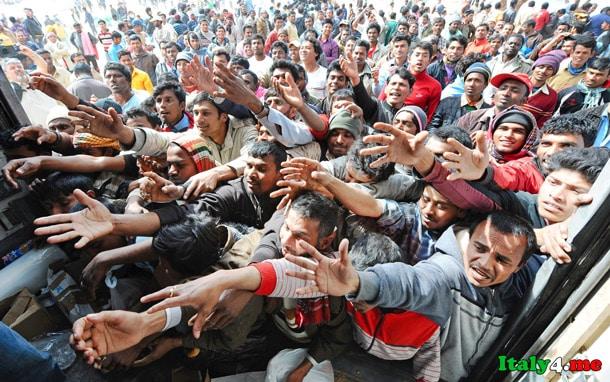 мигранты Италия