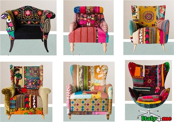 мебель дизайнерские стулья Милан