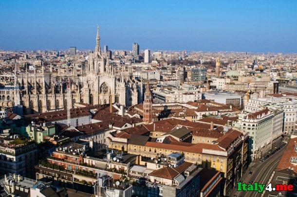 Милан город