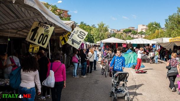 рынок в Тиволи