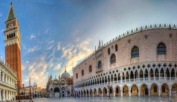 башня в Италии Венеция