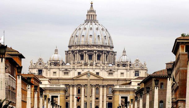купол собора святого Петра в Ватикане