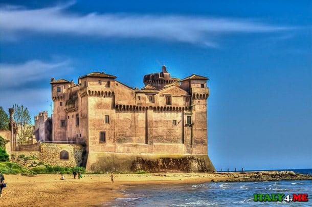 замок Santa Severa Италия