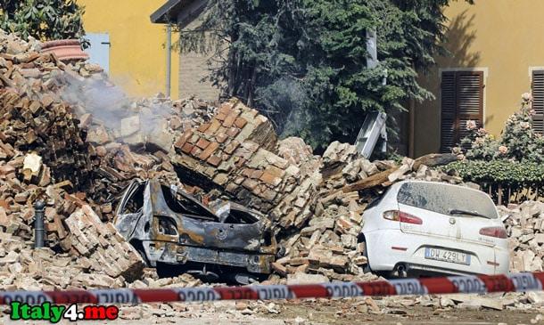 землетрясение Италия 2009