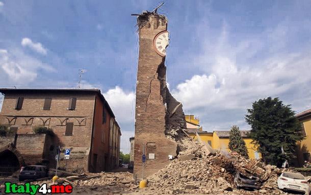 землетрясение руины Италия дом 2013